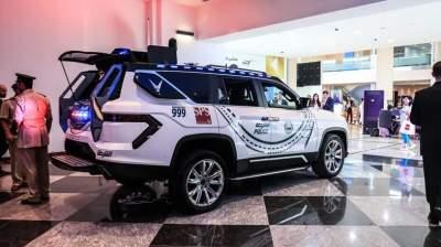 Дубайская полиция получит уникальный внедорожник