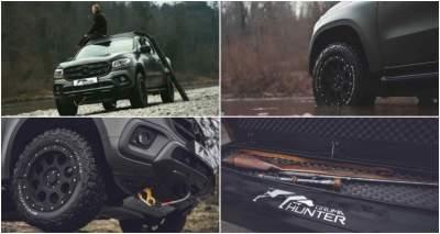 Mercedes-Benz X-Class получил охотничью версию
