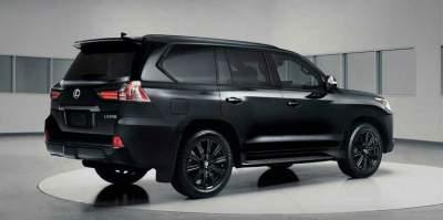 Lexus выпустил лимитированную версию LX 570