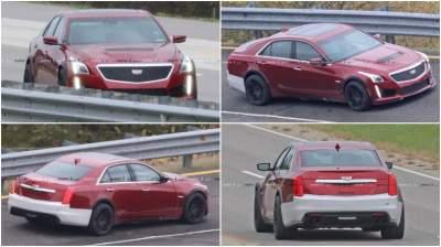 Фотошпионам удалось заснять новый Cadillac во время тестов