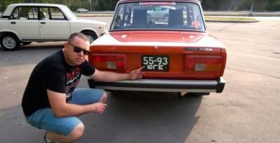 Эксперты по ретро-авто показали раннюю версию ВАЗ-2105