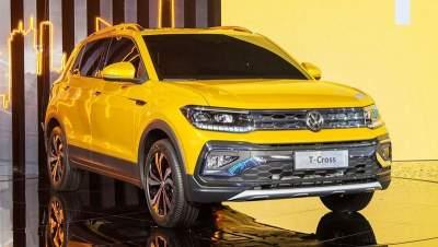 В Сети показали «заряженный» Volkswagen T-Cross GTI
