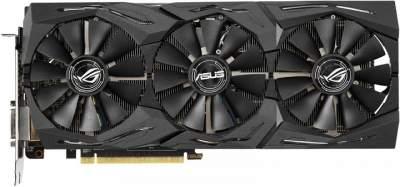 ASUS анонсировала видеокарту ROG Strix Radeon RX 590