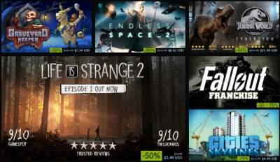В Steam стартовала традиционная осенняя распродажа
