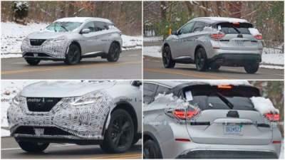 Фотошпионы показали рестайлинговый Nissan Murano