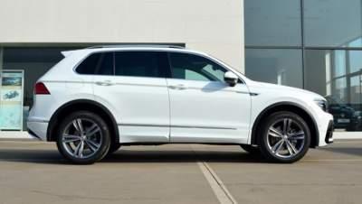 Volkswagen выпустил интересную модификацию модели Tiguan