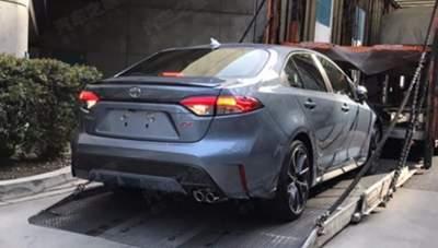 Появились допремьерные фото нового Toyota Corolla