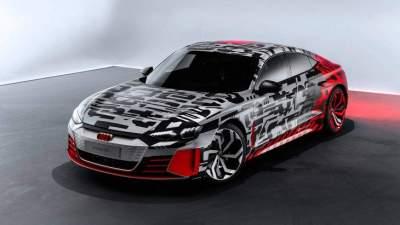Audi впервые показала спортивный электромобиль