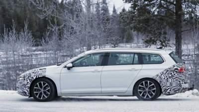 Фотошпионы сфотографировали обновленную модель Volkswagen