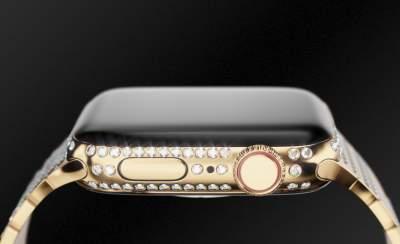 Представлены инкрустированные бриллиантами Apple Watch