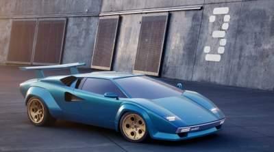 Дизайнер добавил современности легендарной модели Lamborghini