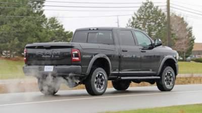 Обновленный Ram Power от Dodge видели на тестах