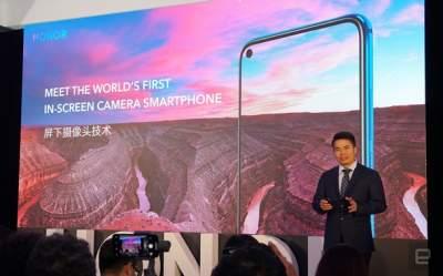Huawei презентовала новый флагманский смартфон Honor View 20