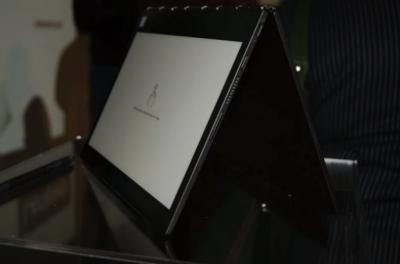 Lenovo представила в Украине ноутбук с двумя дисплеями