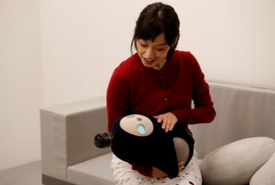 В Японии презентовали робота Lovot