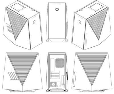 LG предложила оригинальный дизайн для настольного ПК