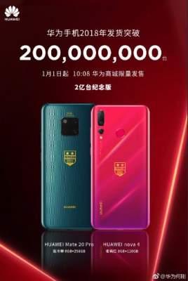 Huawei планирует выпуск праздничных смартфонов