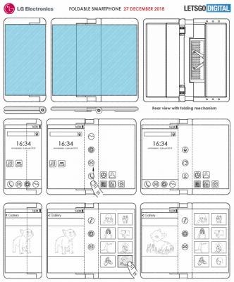 Опубликованы новые изображения сгибающегося смартфона LG