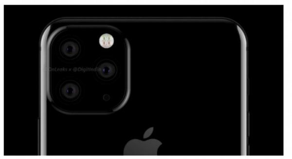 Первые рендеры iPhone с тройной камерой представлены в сети