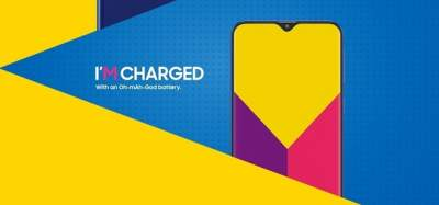 Samsung опубликовала изображения смартфона Galaxy M с вырезом