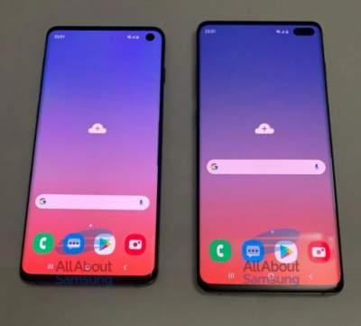 Появились «живые» снимки смартфона Samsung Galaxy S10