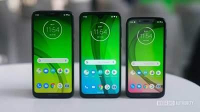 Motorola представила четыре смартфона линейки Moto G7