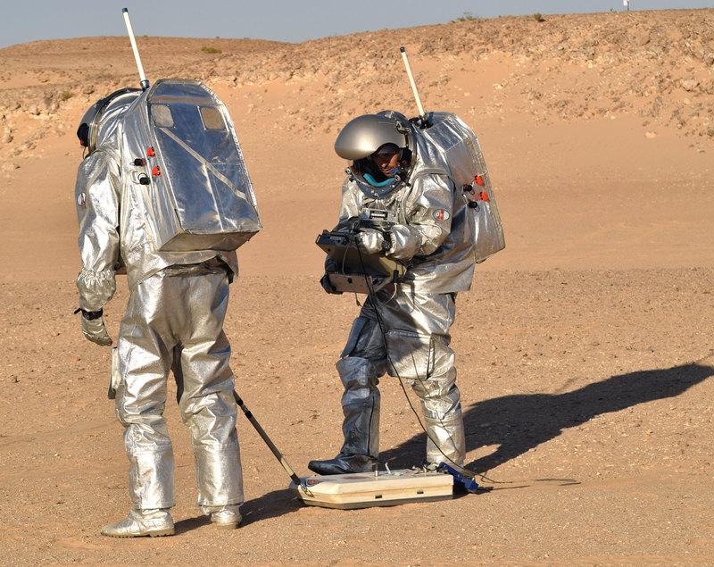 Детектор для поиска воды на Марсе испытали в пустыне