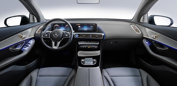 Mercedes-Benz EQC 400 4Matic: электрический кроссовер с запасом хода более 450 км