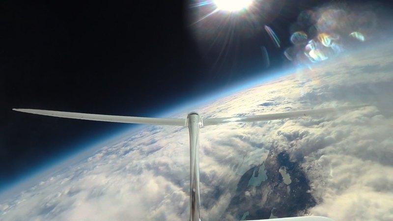 Стратосферный планер Perlan 2 установил новый рекорд высоты