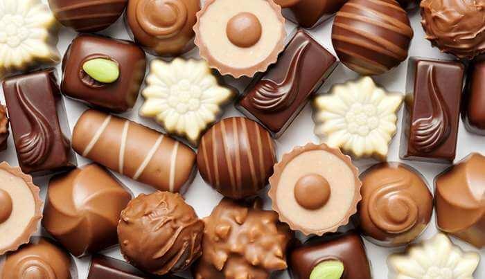 Разнообразие вкусов шоколада от фабрики ТОМЕР