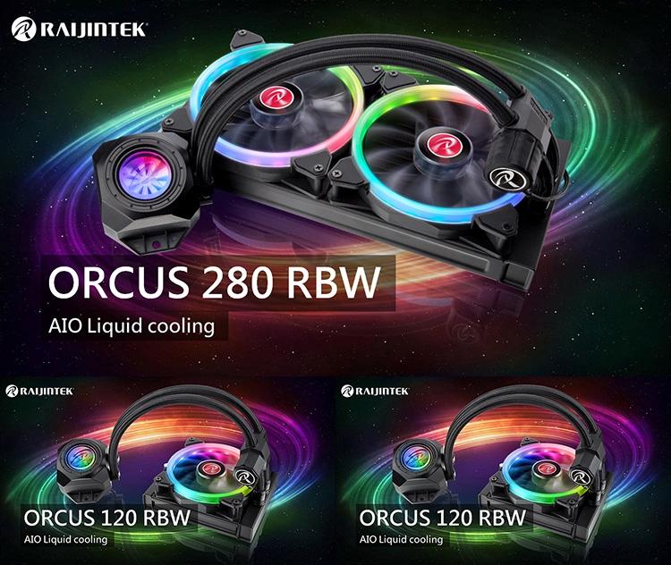 В семейство Raijintek Orcus RBW вошли пять моделей СЖО