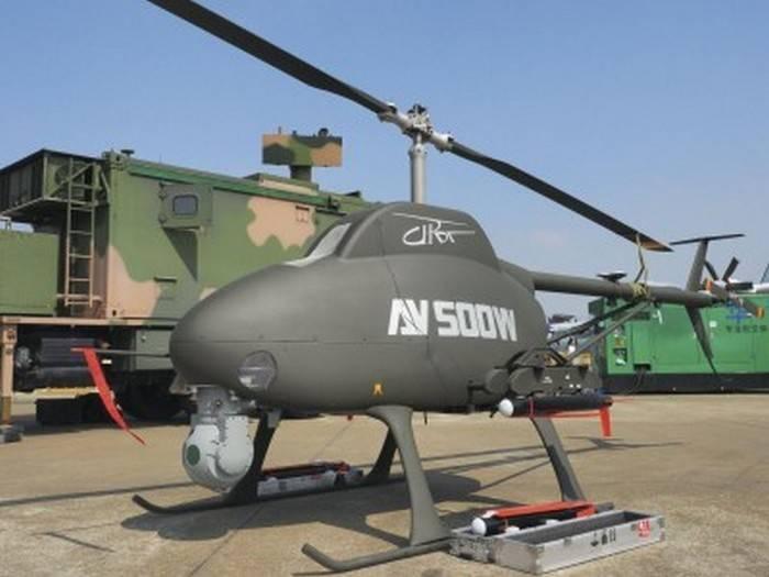 Китай испытал вертолет-беспилотник на учениях