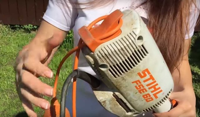 Покос травы триммером — простые советы для легкой работы