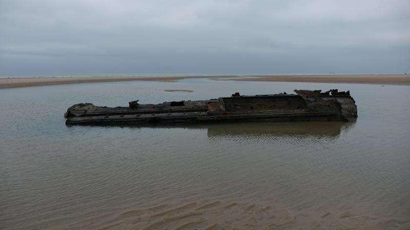У побережья Франции найдена немецкая подлодка