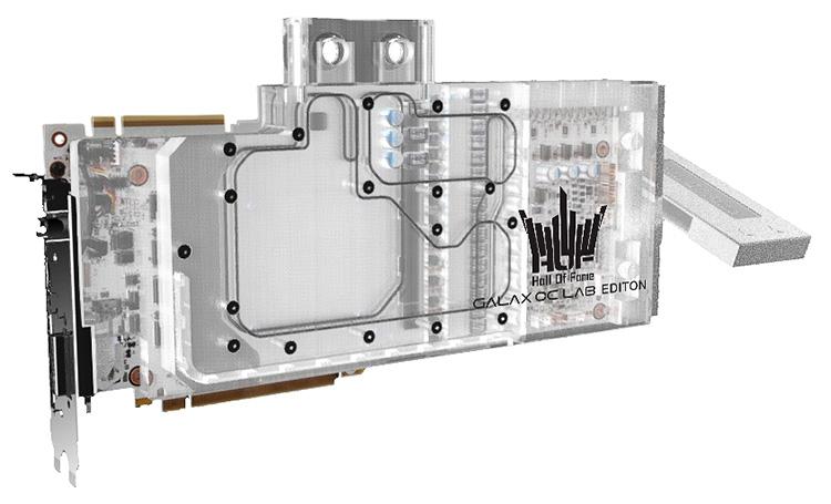 Эксклюзив от GALAX: видеокарта GeForce RTX 2080 Ti HOF OC Lab WC Edition