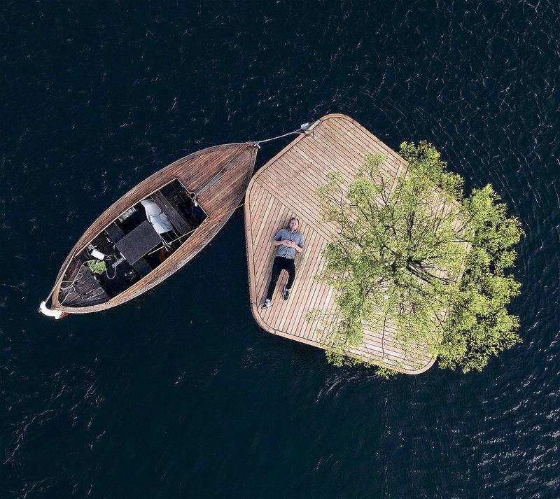 Отель без электричества, плавучий остров и испытания солнечного зонда