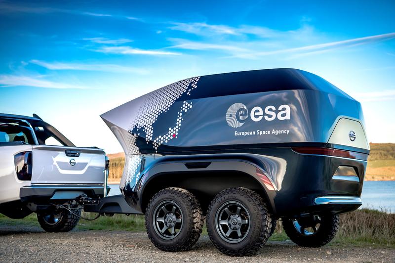 Nissan и ESA построили обсерваторию на колесах