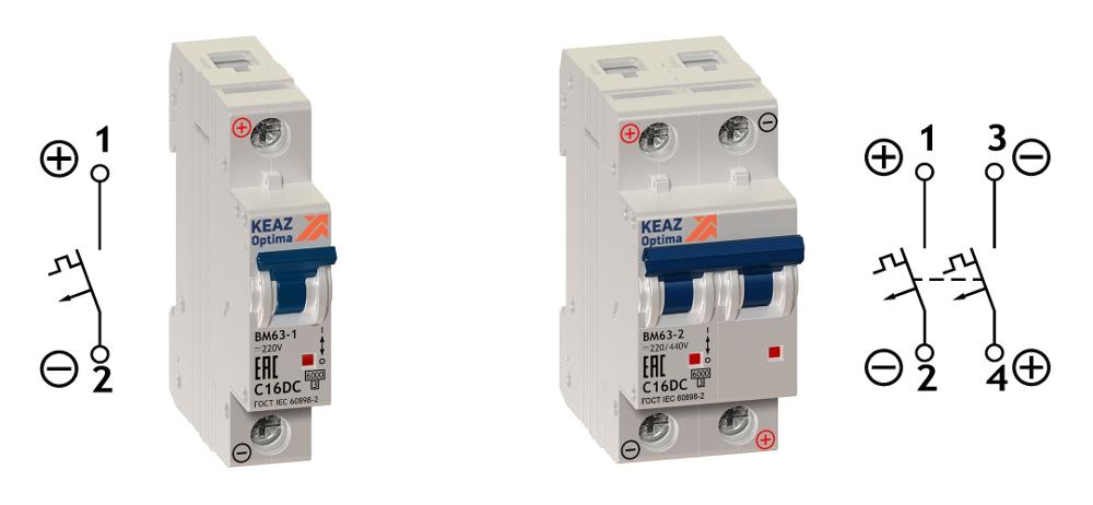 Автоматический выключатель постоянного тока. Применение в IT.