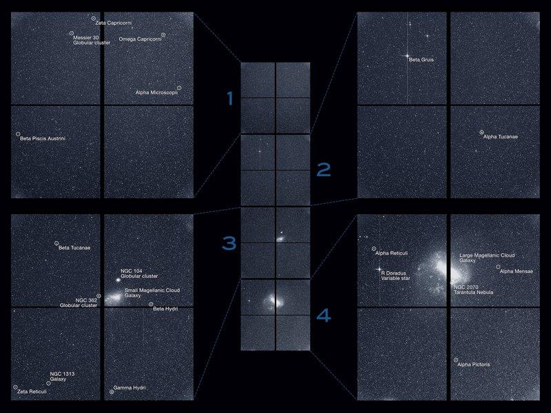 Телескоп TESS прислал первый научный снимок
