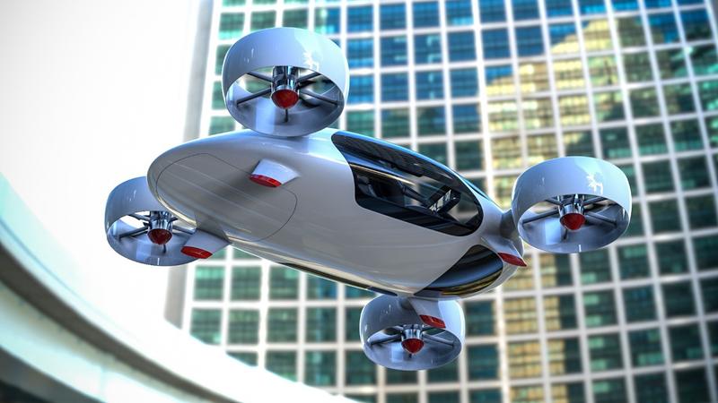 В России построили прототип летающего такси