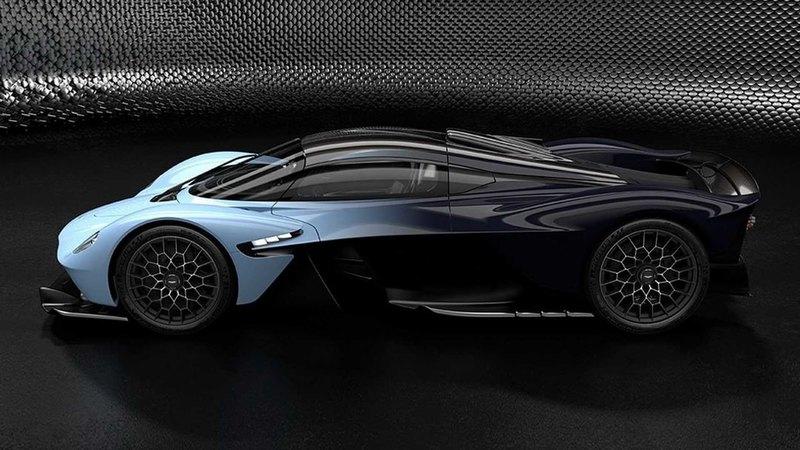 Гиперкар Aston Martin Valkyrie: новые изображения