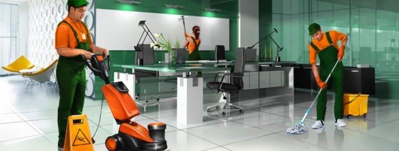 Профессиональная уборка офисов