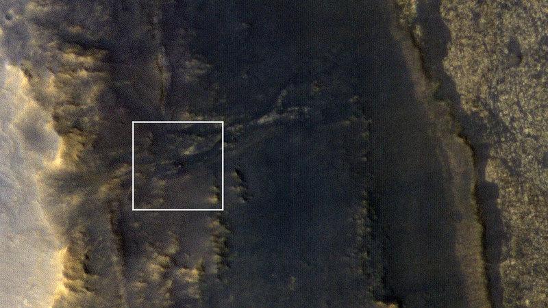NASA нашло марсоход Opportunity