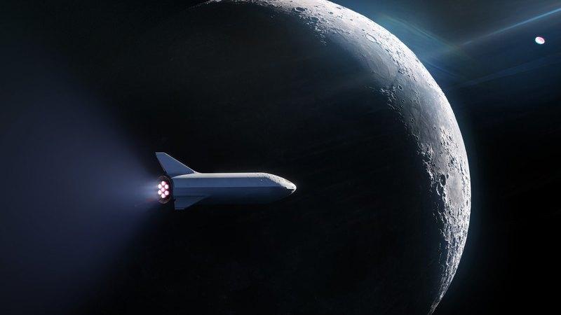 SpaceX нашла первого туриста для полета вокруг Луны