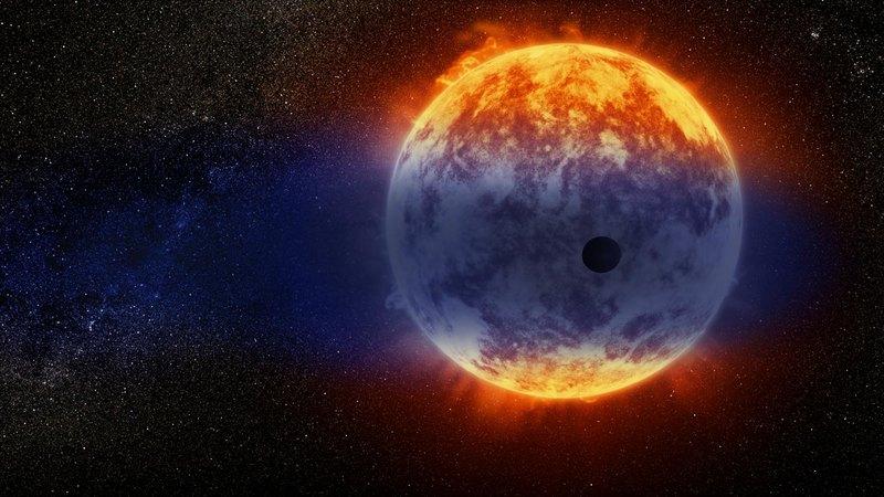 Открыта планета, испаряющаяся с рекордной скоростью