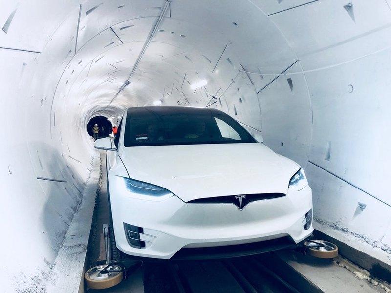 Открылся первый тоннель The Boring Company