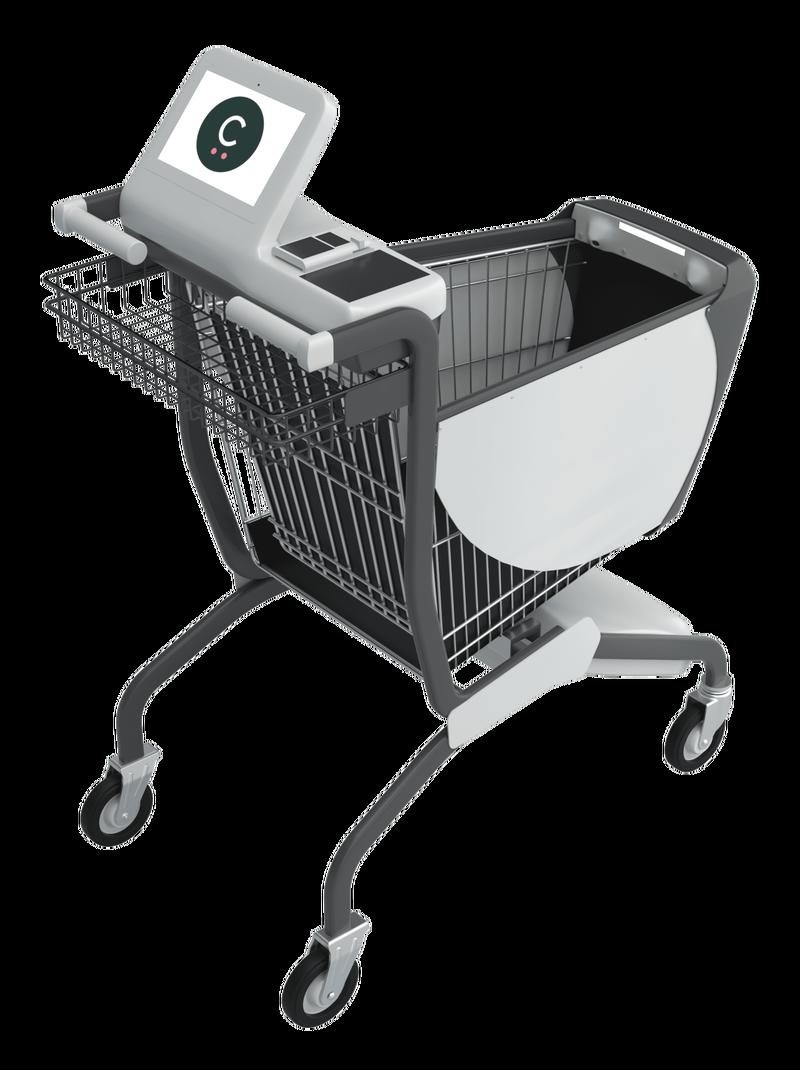 «Умную» тележку придумали на замену кассам в супермаркетах