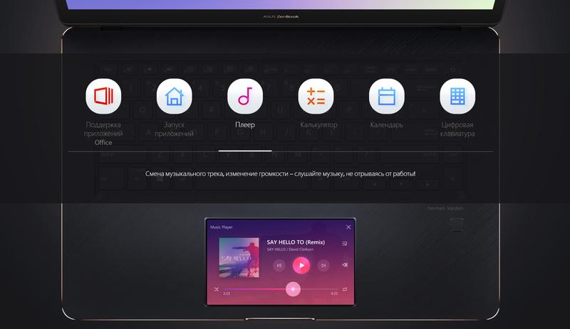 ASUS ZenBook Pro 15: первый в мире ноутбук с двумя рабочими экранами