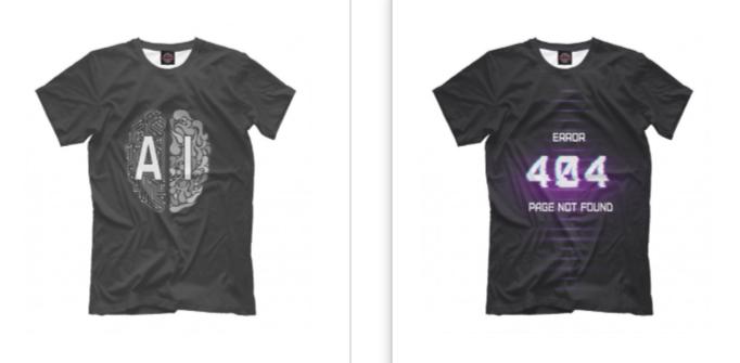 Где купить стильную футболку для программиста