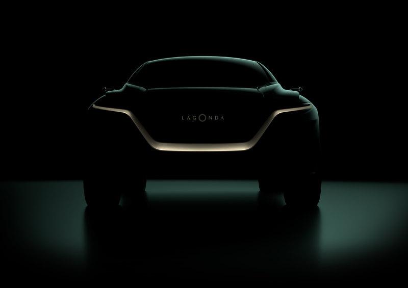 Aston Martin покажет в Женеве электрокроссовер Lagonda